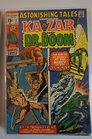 Astonishing Tales Ka-Zar Dr Doom #2 (1970) Marvel Kraven 1st App Petrified Man