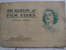 A Complete Album of Film Stars 2nd Series John Player cigarette cards