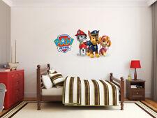 PAW Patrol Logo Friends LARGE VINYL WALL STICKER DECALS CHILDREN Room 88
