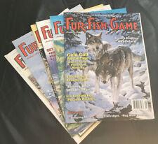 Lot of Fur-Fish-Game magazines yr 2000 hunting fishing gaming 75 Anniversary