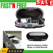 Personal Lock Box Extra Small File Safe Chest Waterproof Fireproof Cash Security