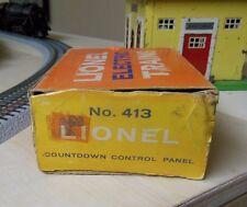 Lionel 413 Countdown Control Panel