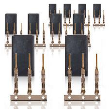 JR Graupner UNI SOCKET Servo Socket Gold Contact 10 pcs. partcore 100071