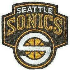 Seattle Supersonics Offizielles NBA Basketball Team Abzeichen