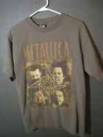 "1996-97 Metallica ""Poor Touring Me"" North America Concert T-Shirt Size Large"