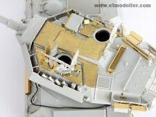 ET Model E35009 1/35 B1 Centauro Turret Armour Plate for Trumpeter 00386/00388