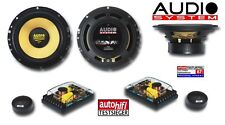 Audio System X 165 165 mm, 2-Wege Composystem Xion 165, 100 Watt RMS X165 NEU