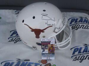 Bijan Robinson signed Texas UT Longhorns full size helmet w/ Hook Em JSA COA