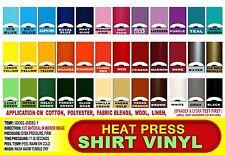 "10 sheet 12""x15"" Heat transfer thermal Press tshirt vinyl film, HTV HPV"