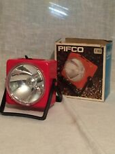 Vintage PIFCO Torch Lamp Light 1970's Lifemaster , UNTESTED ,  FREE UK POSTAGE .