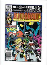 MICRONAUTS #37 [1982 FN] GUEST STARRING--NIGHTCRAWLER!