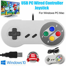 USB Retro Game Controller Joypad Wired Super Game Pads For Nintendo SNES UK
