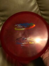 Rare Innova 2012 McBeth Champion Roc 179g Red w/ Rainbow Stamp New