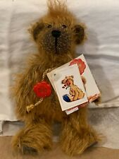 "Hermann Teddy bear Original ""Jack"" Mohair New With Tags - 503/1000 Super Cute"