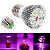 28W E27 LED Flower Seed Plants Hydroponic Grow Light Lamp Bulb Full Spectrum