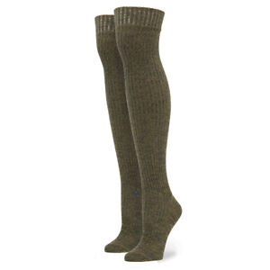 "Stance Over the Knee Double Cylinder Socks ""Matchsticky"" - Womens O/S (One Size)"