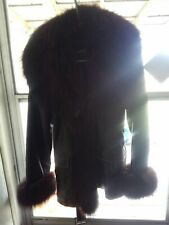 United Face Fur Coat Brown Small