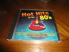 Hot Hits of the 80's CD - Cheap Trick HOOTERS Loverboy TOTO Scandal - 1995