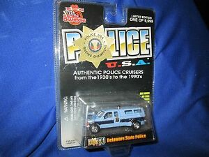 Delaware State Police trooper  1999 Ford Pickup F 350 dually Racing Champion
