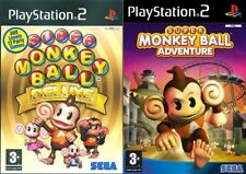 Super MONKEY BALL Deluxe y Super Monkey Ball Adventure ps2 PAL