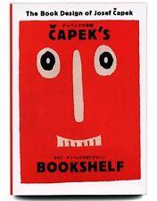 2003 Japanese JOSEF CAPEK BOOK DESIGN Czech Avant-Garde Typographic Design Book