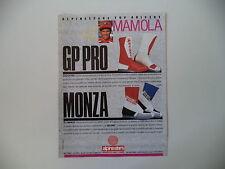 advertising Pubblicità 1988 ALPINESTARS e RANDY MAMOLA