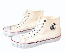 PF Flyers Sneakers Posture Foundation Hi Top White Shoes Size Mens10
