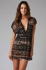 NWT GOTTEX MOZAMBIQUE SHEER Bathing Suit Swimsuit COVER-UP DRESS Size - SMALL