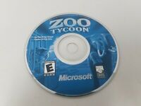 Zoo Tycoon Disc ONLY Pc Game Good Condition Tested and Works!