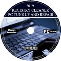 2021 Pro Registry Cleaner PC Tuneup Repair Errors Free Disk Space Virus Removal