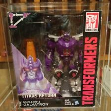 Transformers Titans Return Galvatron AFA  Hasbro Master 75+ CIB Prototype Like