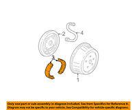 GM OEM-Brake Shoes 25976968