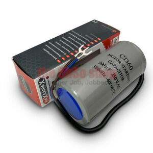 300uf Capacitor CD60 Start Run AC Motor For Generator, Compressor, Air-Con, Pump