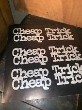 "Original Cheap Trick ""At Budokan"" 1978 Record Album Lyric Insert."