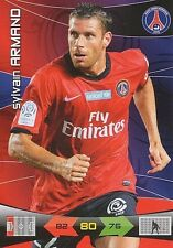 SYLVAIN ARMAND PARIS.SG PSG CARTE CARD ADRENALYN LIGUE 1 2011 PANINI - D