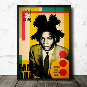 Jean-Michel Basquiat Pop Art Poster Artist Warhol Harring