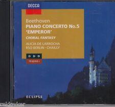 Beethoven -Klavierkonzert No. 5, op 73 - Klavier-Fantasien, op 80 -Larrocha
