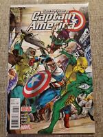 Captain America Sam Wilson #6 2016 1st Full App Joaquin Torres as the Falcon A