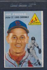1954 Topps #135 Joe Presko Cardinals VG/EX *800