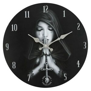 Anne Stokes Wall Clock, 9 Designs, Raven, Gothic, Wish, Awake, Choose Yours