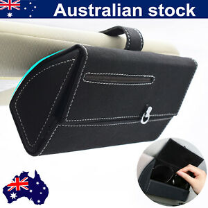 Universal Portable Car Sunglasses Organizer Holder Visor Car Decor Tray Fashion