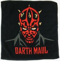 "Star Wars Darth Maul Original 1999 Licensed 12"" Face Cloth / Wash Flannel - New"