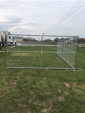 12' x 6' chain link temp construction fence panels-Rent A Fence
