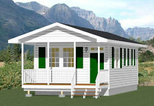 16x32 Tiny House -- 511 sq ft -- PDF Floor Plan -- Model 2