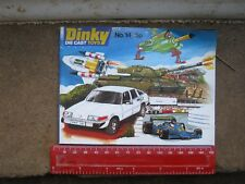 DINKY CATALOGUE NO 14 FROM 1978 IN VERY GOOD LIGHTLY AGE WORN CONDITION FREEPOST