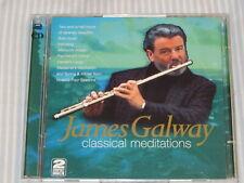 JAMES GALWAY Classical Meditations (CD 1996)  2-CD SET