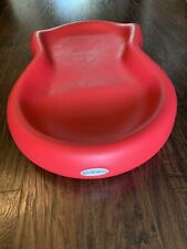 Keekaroo Peanut Baby Changing Pad Table Changer Red Latex Free Easy Clean
