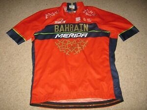Bahrain Merida Sportful cycling jersey [3XL adult] BNW/OT