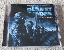 Planet Of The Apes  - Danny Elfman Official Soundtrack Cd Album Mint Condition