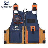 Men's Life Jacket Fishing Jackets Kayak Safety Vest Drifting Boating PFD